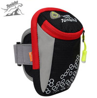 Wholesale Fitness Cream - Wholesale- TANLUHU 6inch Outdoor Sports Running Bags Arm Bags Hiking Exercise Bag Multi-Functional Outdoor Fitness Arm Belt Equipment