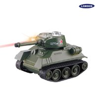 Wholesale Military Tank Toys Control - Mini Remote Control Tank Remote Control Toy Electric Lighting Wireless Remote Tank Electric Model with Package