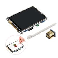 tft touch hdmi großhandel-Raspberry Pi 3 Touchscreen High-Definition 480 * 320 Display HDMI-Schnittstelle 3,5 Zoll