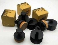 Wholesale Foundation Seal - New kylie brush Sealed Push and pull style powder brush Cosmetics foundation contour brush with gold box Makeup brushes