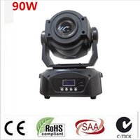 Wholesale Moving Faces - 2017 90W Gobo LED Moving Head Light 3 Face Prism DMX Controller 14 Channel for Stage Theater Disco Nightclub Party