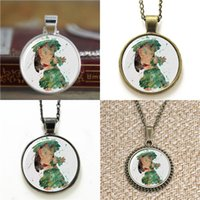 Wholesale Earring Stitch - 10pcs Lilo Lilo & Stitch Art Cartoon Photo Necklace keyring bookmark cufflink earring bracelet