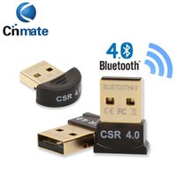 2 disegno Bluetooth di alta qualità 4.0 USB 2.0 CSR4.0 Dongle per PC PORTATILE WIN XP Vista7 / 8 Well con Package