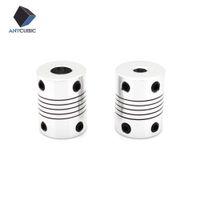 Wholesale Flexible Motor Couplings - 5PCS 3D printer parts CNC Motor Jaw Shaft Flexible Coupling Coupler 5x8x25mm 5x5x25mm