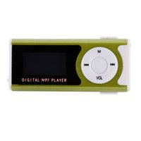 "Wholesale Mp3 Player Sd Popular - Wholesale- New Popular Style 1.3"" Mini USB Clip LCD Screen MP3 Media Player Support 16GB Micro SD TF"