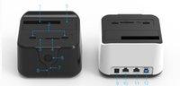 ingrosso disco rigido esterno 3.5-All'ingrosso- 2016 router wifi sata hdd 3.5 2.5 USB 3.0 docking station esterno di archiviazione hard disk custodia caso hard disk lettore di schede SD TF