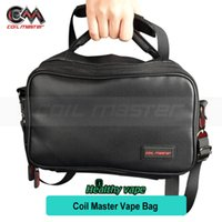 outdoor coil - Original Coil Master Vape Bag for Vape Collect and Outdoor Ecigs Vape Carry Bag with Shoulder Strap Fit RDA RTA RBA Box Mod