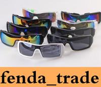 kayak güneş gözlüğü toptan satış-Bisiklet Eyewears Erkekler Bisiklet logosu Gözlük ADEDI = 10 adet Tırmanma Erkekler Kayak Açık Spor UV400 Koruma Güneş Gözlüğü Için Tarzı