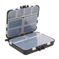 Wholesale fishing tackle boxes sale resale online - Hot Sale Compartments Fishing Box Fishing Tackle Boxes Fishing Lure Bait Tackle Waterproof Storage Box Case Drop Shipping