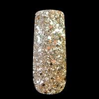 polvo de mezcla de oro al por mayor-Al por mayor-Nail Art Glitter Powder Tyrant Gold Lentejuelas hexagonales Powder Dust Mix Tamaño Nail Glitter Powder Flash Acrylic Manicure Nail 265