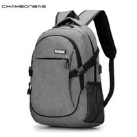 Wholesale Cloths Korean Male - Wholesale- New Europe Nylon Oxford Cloth Man Solid Fashion Travel Backpack Male Denim School Teenage Backpacks Sac a dos pour homme N507