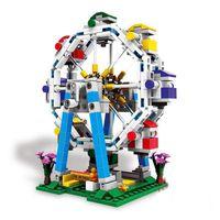 Wholesale Wheel Blocks - XINGBAO 01106 01107 01108 01109 The Genuine Amusement park equipment Series The ferris wheel Building Blocks Bricks Toys Model