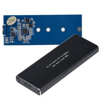 Wholesale Tech Cards - Wholesale- Mecall Tech USB 3.0 to NGFF M.2 SSD Adapter Card External Enclosure Case Cover+Tool