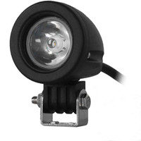 Wholesale Vehicle Spotlight Lights - 10W 10 - 30V Car Spotlight Headlamp LED 1000LM 6000K White Light Round Design Apply Different Types of Vehicles External Lights