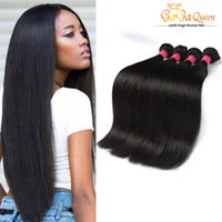 Productos de la reina de Gaga Brazillian Hair Straight Weave 4pcs Color Dyeable Brazillian Straight Hair 100% Unprocessed Extensiones de cabello humano Suave