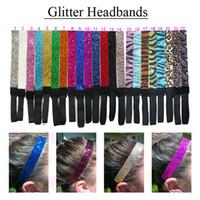 Wholesale headbands u pick for sale - Group buy Glitter Headbands U PICK all COLORS Elastic Stretch Sparkly Fashion Headband for Teens Girls Women