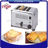 Wholesale Stainless Toaster - Fast Delivery! Stainless Steel Bread Toaster, Silver Bread Machine, Household Commercial Toast Furnace, Tasty Breakfast Baking Pastry Tools