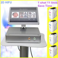 Wholesale face shot - home use hifu skin tightening face lifting machine new arrived 2D hifu machine for face and body with 10000 shot 11 lines