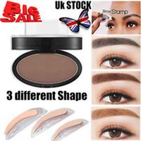 брови тень макияж оптовых-Брови тени Определение состава Brow Stamp Powder Палитра New