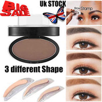 black light stamp - Eyebrow Shadow Definition Makeup Brow Stamp Powder Palette New
