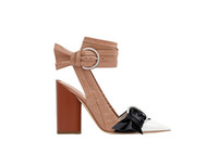 Wholesale Chunky Heel Platform Pump Design - 2017 Hot Selling Fashion Work Woman Shoes Pointed Toes platform Shoes Concise Design Buckle Ankle Strap Chunky Heels Button decoration Pumps