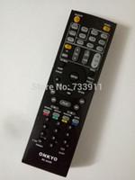 Wholesale Tx Rc Remote - Wholesale- New Replacement AV Receiver REMOTE CONTROL For ONKYO TX-NR616 TX-NR626 HT-S5400 RC-834M AV Receiver