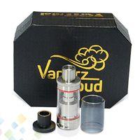 Wholesale mini cloud - Best VCMT Mini RTA Tank Clone 22mm Vaperz Cloud Mega Tank balck SS Color Velocity Style Deck fit 510 Mod DHL Free