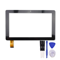 """сенсорный планшет оптовых-Wholesale- 10.1"""" inch Touch Screen for GT10PWN106 Tablet PC Digitizer Sensor Glass Panel with Free Repair Tools"""
