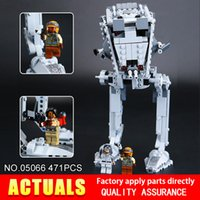 Wholesale Educational Walker - Lepin 05066 471Pcs The Rogue One AT set ST Walker Educational Building Blocks Bricks Gifts Toys with 75153 christmas gift