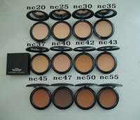 Wholesale Pressed Powder Plus Foundation - Makeup Studio Fix Face Powder Plus Foundation 15g Pressed Powder 10pcs