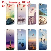 Scenery Series Phone Case для Samsung I8190 Galaxy S III Mini S3 Mini Cute Cartoon High Quality Painted TPU Мягкая задняя обложка для силиконовой кожи