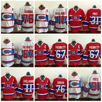 Wholesale Full Free P - #67 Max Pacioretty Jerseys Montreal Canadiens Hockey Jerseys 76 P K Subban 11 Brendan Gallagher 31 Carey Price Stich Free shipping