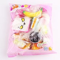 Wholesale Cheap Wholesale Animal Charms - Wholesale Kawaii Squishy Rilakkuma Donut Sof Squishies Cute Phone Straps Bag Charms Slow Rising Squishies Jumbo Buns Cheap Charms Free DHL