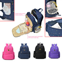 Wholesale Baby Products Brands - Wholesale-Brand New Large Capacity Multifunctional Mummy Nappy Backpack Maternity Baby Diaper care product Bags For Travel