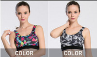 Wholesale Sexy Clothes For Women Sleep - 2017Women new Sexy High-end Yoga Shirts Sport Bra Top Comfortable Push up For Yoga Sports Sleep Fitness Clothing female