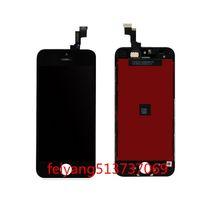 iphone 5g de la pantalla táctil del reemplazo al por mayor-Alta calidad para el iphone 5 5g 5c 5s lcd pantalla táctil digitalizador completo montaje reemplazo