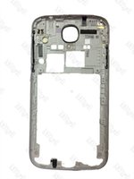 Wholesale S4 Back Plate - DHL 100pcs High-Quality S4 I545 L720 R970 Middle Frame Back Plate Housing Rear Frame Bezel Chassis For Samsung Galaxy S4 i545 L720 R970