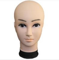 cabezas de maniquí de hombres al por mayor-Mannequin Head Hat Display Peluca modelo de cabeza de entrenamiento modelo de cabeza de hombre