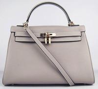 Wholesale locks uk resale online - bags shoulder silver bride female women handbag tote lady purse DE UK France JP wallet Togo genuine leather bag Paris US EUR