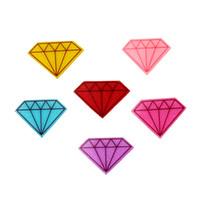 Wholesale Teardrop Glitter - 30Pcs Colorful Glitter Diamond Shape Resin Planar Kawaii Decoden Resin Cabochons Teardrop For DIY Jewelry Craft Best GIFT 38*27mm