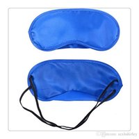 Wholesale Motorcycle Rest - Wholesale Sleep Masks Motorcycle Goggles Airsoft Glasses Eye Mask Shade Nap Cover Travel Rest Skin Health Care Treatment Free Shipping