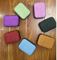 Wholesale Universal Colour - T3 Fabric art Wireless Bluetooth speakers Outdoor portable mini audio Subwoofer colour mini speaker Support TF card FM U Disk