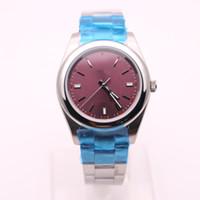 Wholesale Oyster Watches - Rolix New luxury mechanical watch men 40mm OYSTER AAA replicas model PERPRTUAL diamond military men sport watches clock royal oaks 02