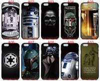 Wholesale Star S4 Phone - Star Wars R2D2 For iPhone 6 6S 7 Plus SE 5 5S 5C 4S iPod Touch 5 For Samsung Galaxy S6 Edge S5 S4 S3 mini Note 5 4 3 phone cases