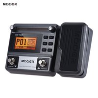 Wholesale Tune Pedal - MOOER GE100 Guitar Multi-effects Processor Effect Pedal with Loop Recording Tuning Tap Tempo Rhythm Setting Scale & Chord Lesson