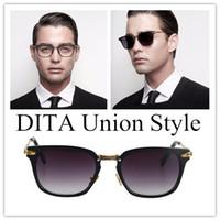 Wholesale Union Pc - Brand Designer-2017 NEW Luxury D T Sunglasses Union Sunglasses Men Women Sunglasses Square Frame Sun Glasses Oculos De Sol Lunettes