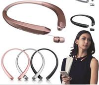Wholesale lg tone bluetooth online – New HBS HBS CSR Tone Infinim Wireless Bluetooth Headphones Sports Neckband Earphone Handsfree HBS910 for iphone7