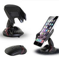 Wholesale Dashboard Windshield Car Mount - Car Mount Universal Windshield Dashboard Mobile Phone Car Holder 360 Degree Rotation Car Holder with Strong Suction Cup
