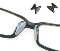 glasses nose pads achat en gros de-Vente en gros- 1/5 paires de coussinets en silicone anti-dérapant pour lunettes de lunettes de lunettes Lunettes de soleil