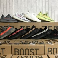 Wholesale Sport Royal - [Send With Receipt Double Boxes Socks Keychain] Sply 350 Boost 350 V2 Cream White Bred Zebra Beluga 2.0 Running Shoes Sport Sneakers